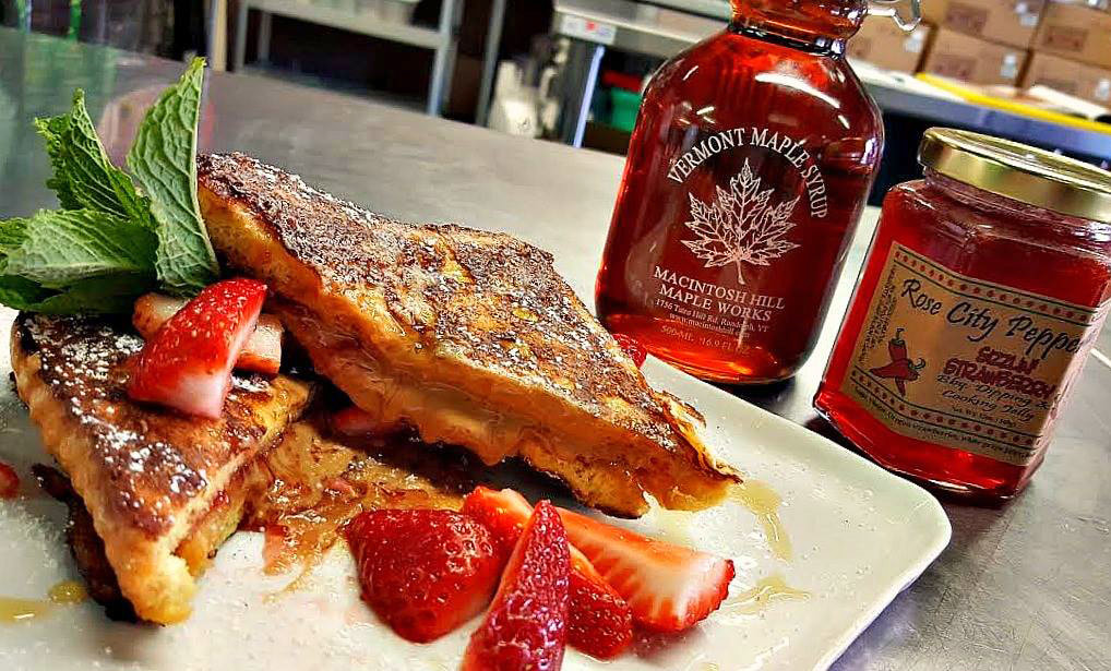 Make Peanut Butter and Jelly French Toast with Strawberry Pepper Jelly