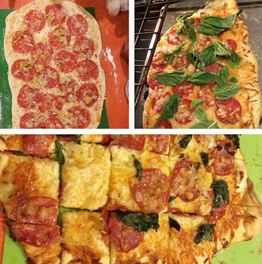 Party Pizza Appetizers made with Rose City Pepperheads Jelly