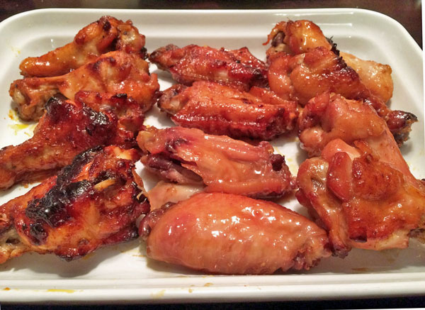 Wings of Fire Recipe - Chicken Wings with Pepper Jelly