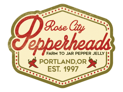 Rose City Pepperheads Pepper Jellies Farm to Jar Made in Oregon