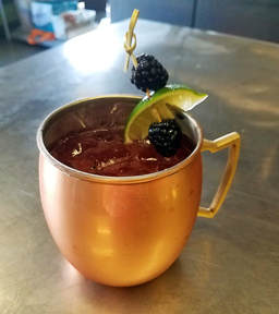 Make this delicious Marion Blackberry Mule cocktail with Rose City Pepperheads jelly.